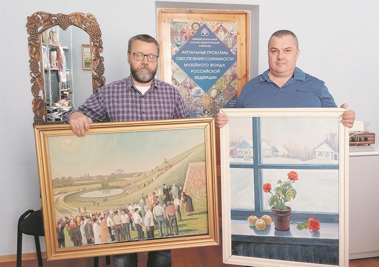 Картины в подарок музею