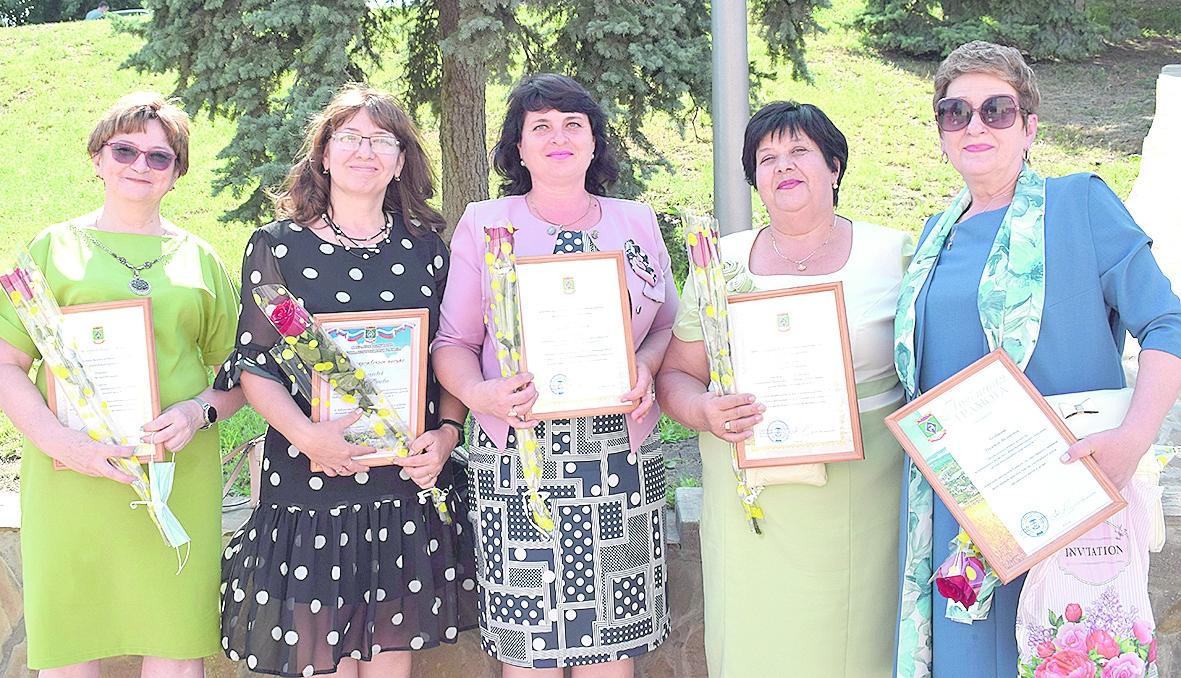Педагогов Белокалитвинского района наградили за преданность профессии