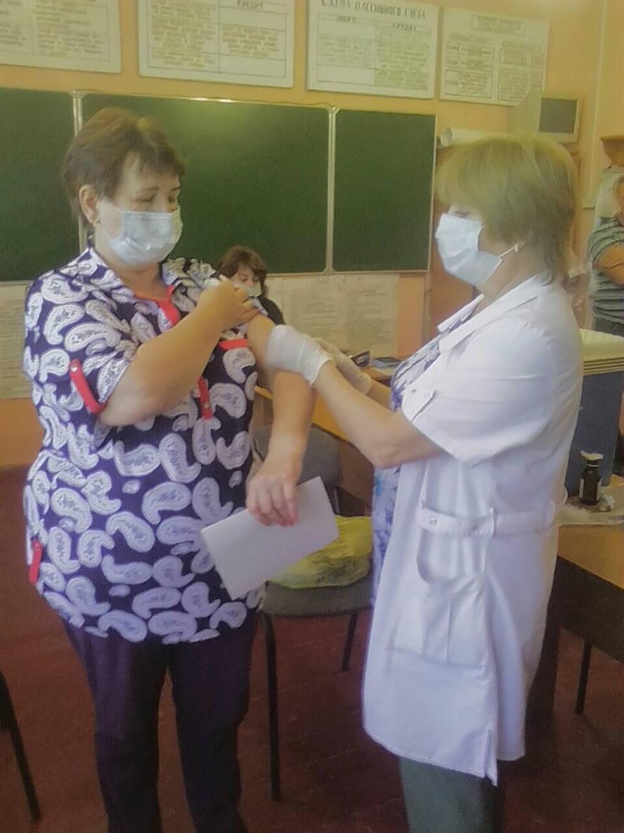 В Белокалитвинском районе продолжается вакцинация от гриппа