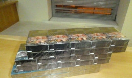 Более 55 000 незадекларированных и скрытых от таможенного контроля сигарет выявили должностные лица таможенного поста МАПП Гуково Ростовской таможни с начала года