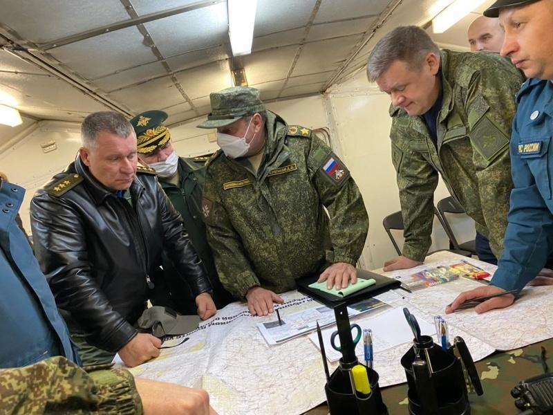 Министр МЧС России провел заседание оперштаба по ЧП в Рязанской области