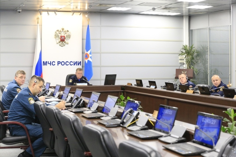 Силы МЧС России мобилизованы на защиту населенных пунктов в Рязанской области