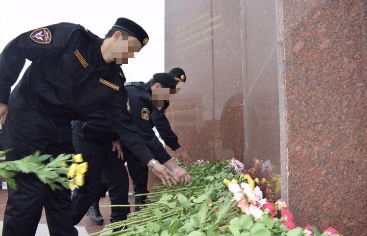 Каспийский ОМОН отметил годовщину образования отряда