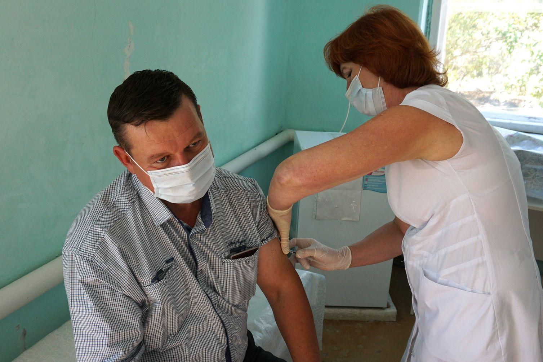 В области работают 562 прививочные бригады для вакцинации от гриппа