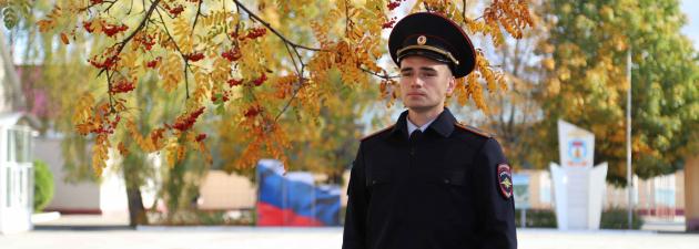 Курсант Рязанского филиала Московского университета МВД России задержал подозреваемого в убийстве