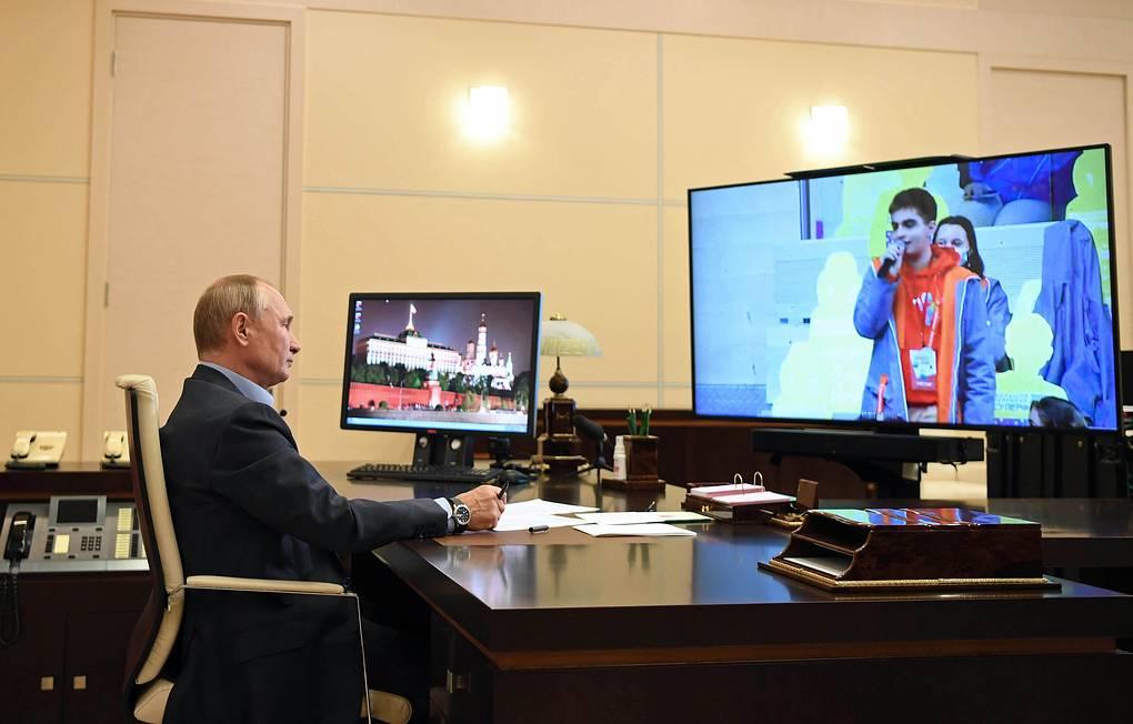 Президент Путин: «Быть добрым человеком – это талант»