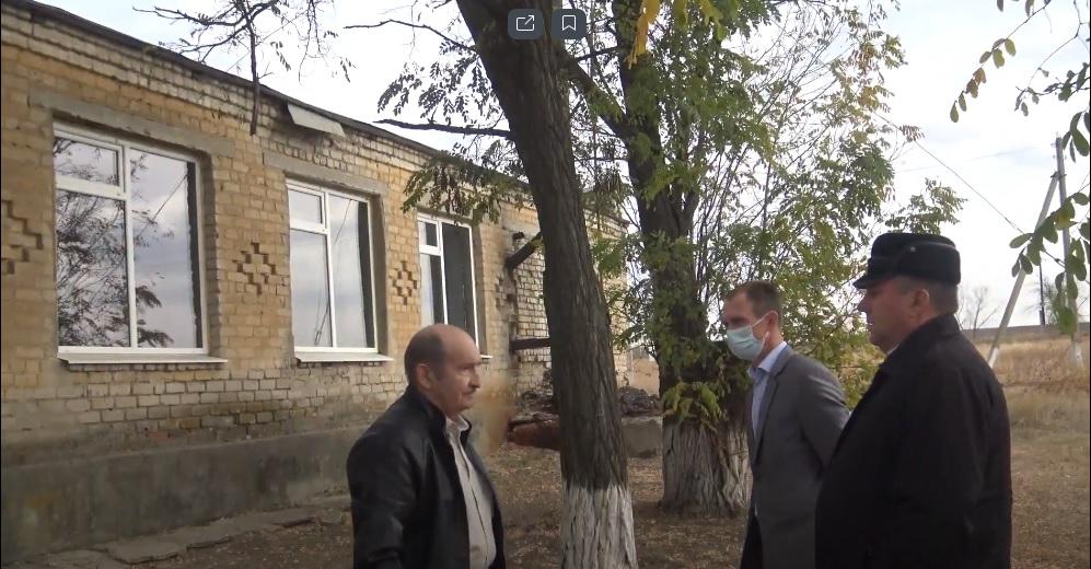 Депутат Законодательного Собрания Ростовской области В.П. Тарасенко посетил Ильинское сельское поселение