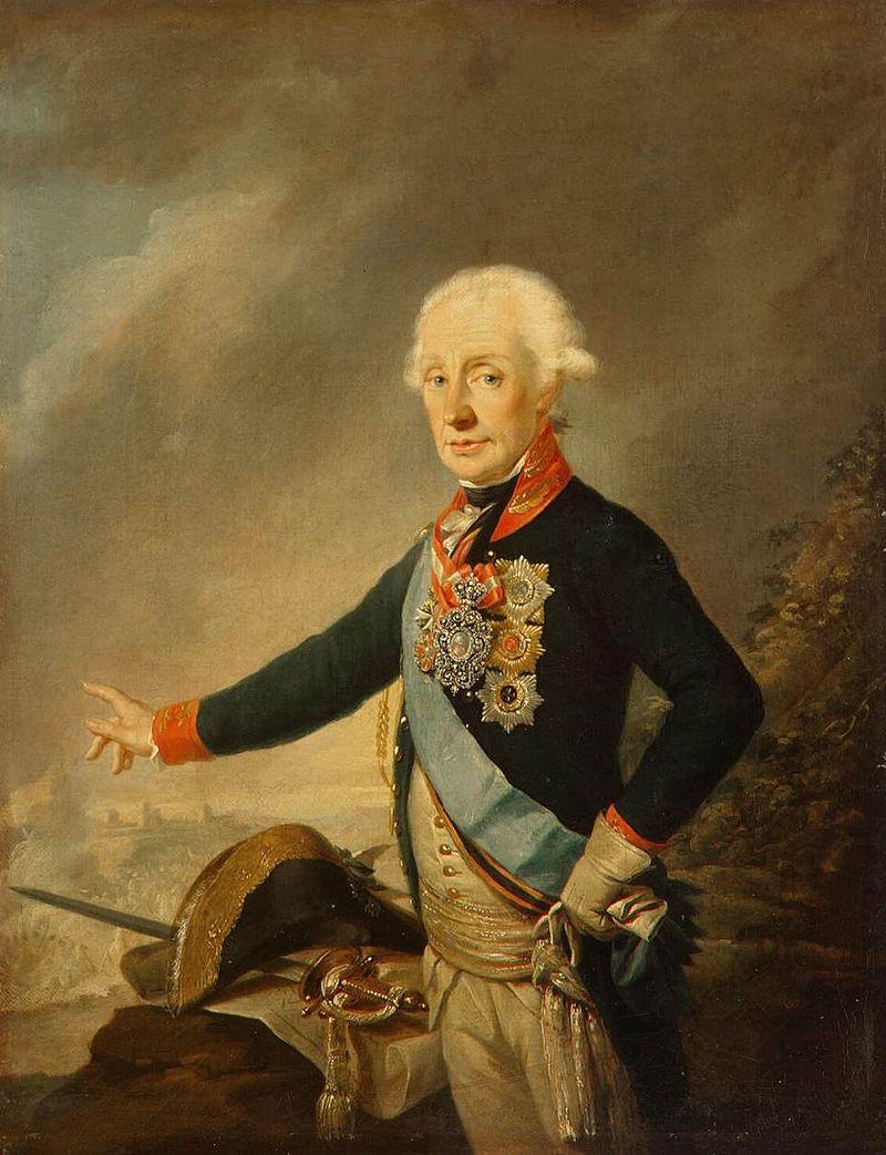 291 год назад родился Александр Суворов