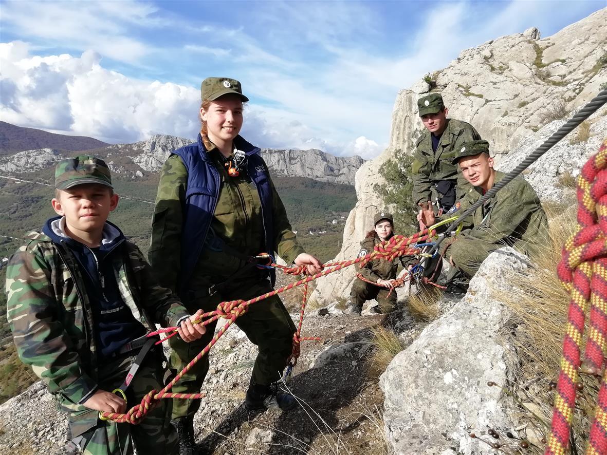 Кадеты Белокалитвинского Матвея Платова казачьего кадетского корпуса совершили путешествие по Крыму
