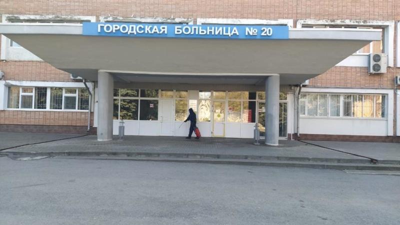 Сотрудники МЧС России продолжают дезинфицировать социально — значимые объекты