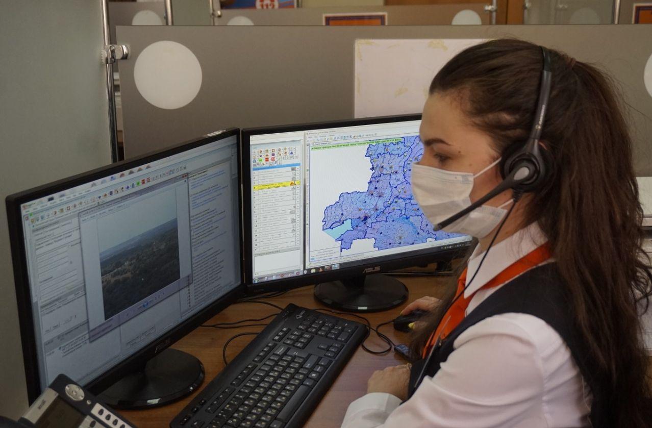 «Система-112» помогла найти заблудившихся в метель жителей Боковского района