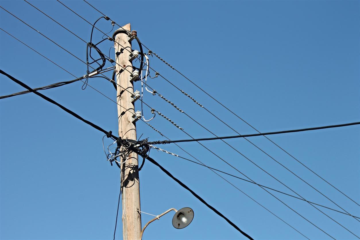В хуторе Дядине отключат электроэнергию