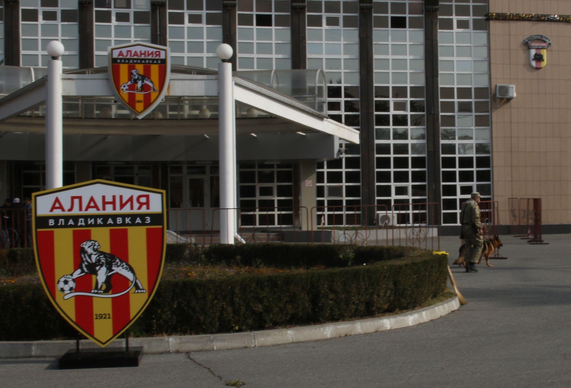 Росгвардия приняла участие в обеспечении правопорядка во время футбольного матча во Владикавказе