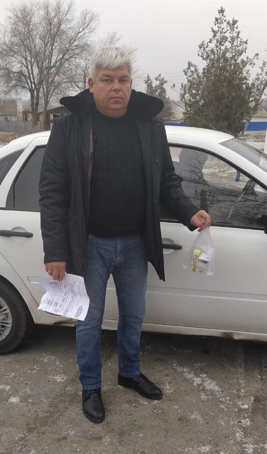 Глава Нижнепоповского сельского поселения стал автоволонтером