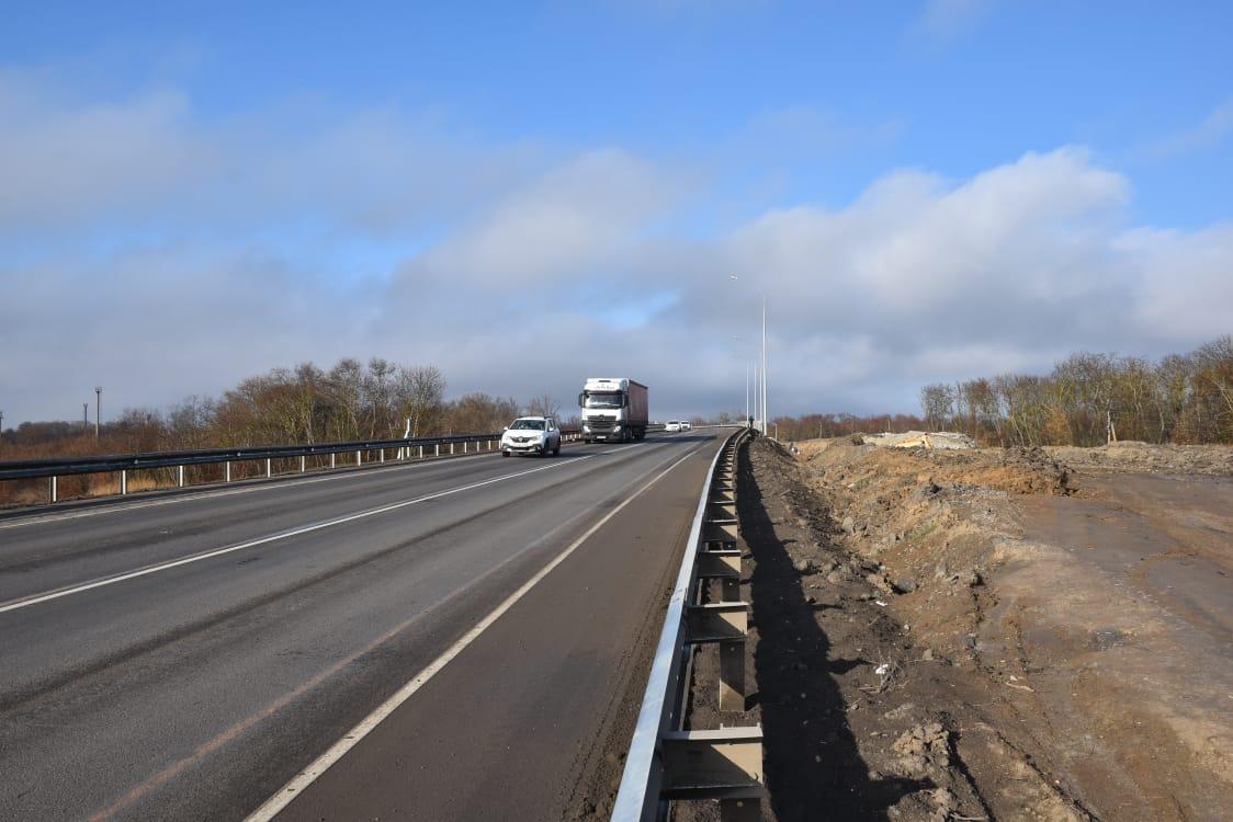 Завершена реконструкция путепровода на автодороге Ростов-на-Дону – Ставрополь
