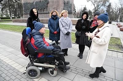 Екатерина Стенякина организовала первую экскурсию в рамках акции «Доступный туризм»