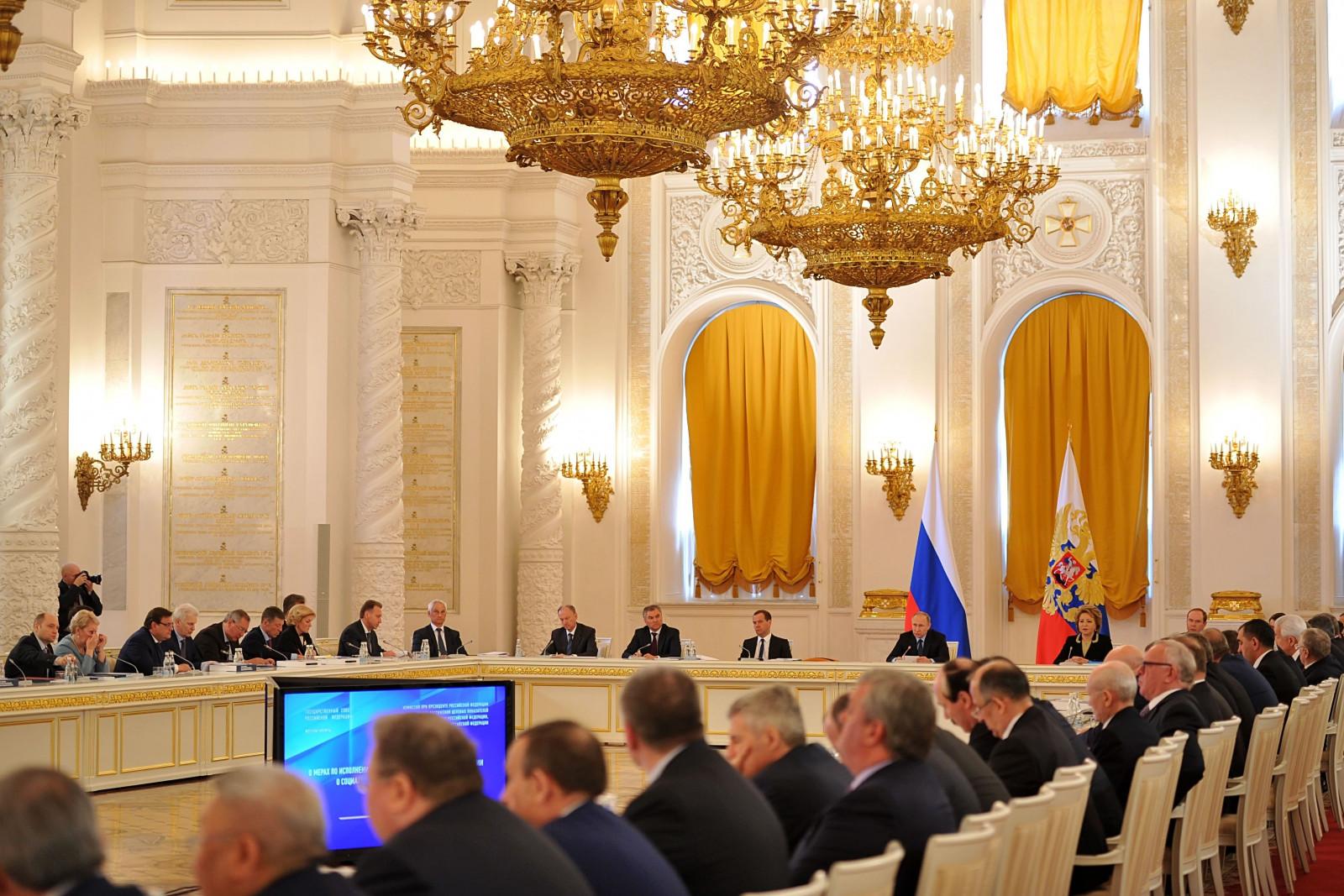 Губернатор Ростовской области Василий Голубев вошёл в новый состав Госсовета