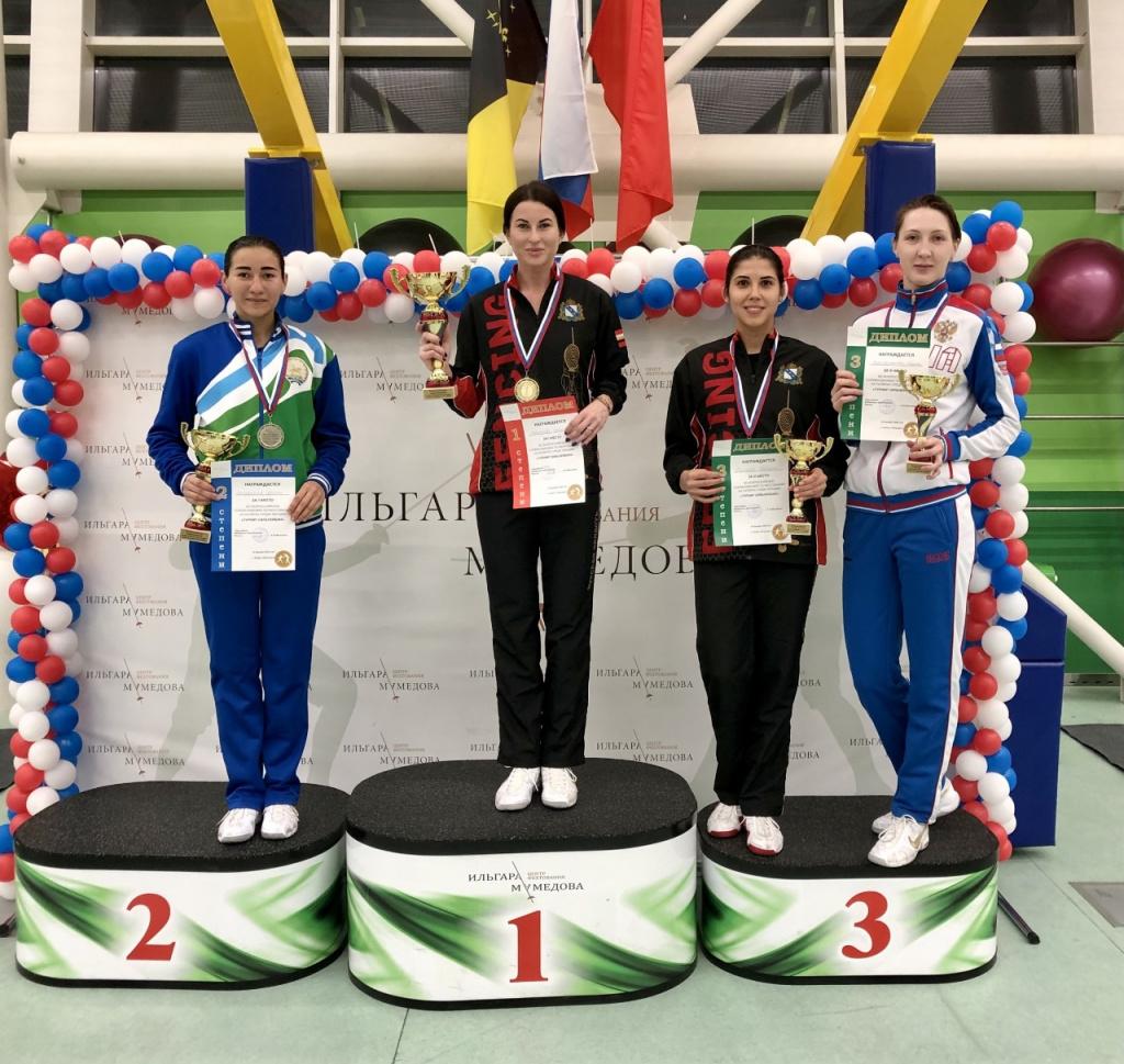 Ростовчанка стала обладателем «бронзы» на турнире рапиристок