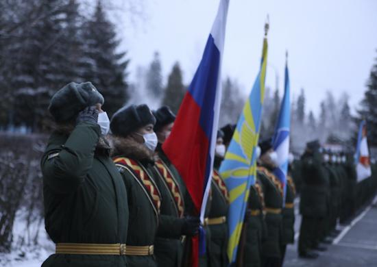 В 15-й армии ВКС состоялся митинг, посвящённый началу зимнего периода обучения