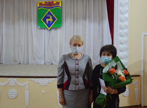 Белокалитвинка Вера Позднышева отмечена знаком «За заслуги перед Белокалитвинским районом»