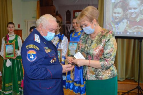 Казаку Усть-Белокалитвинского юрта вручена медаль