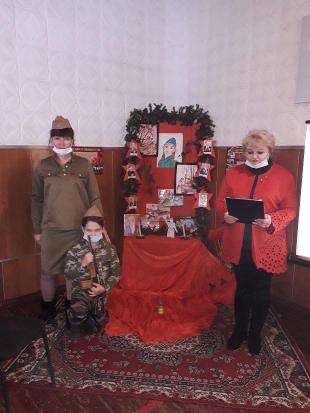 День освобождения в п. Ясногорка