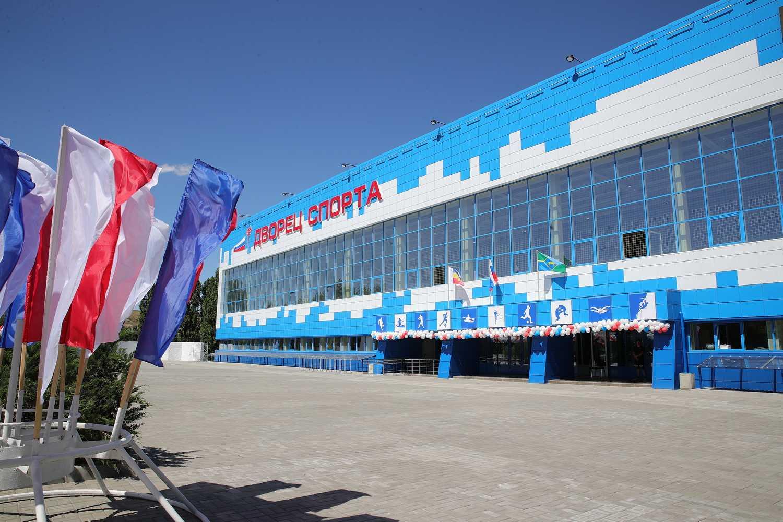64 спортивных объекта возведено и отремонтировано в Ростовской области в 2020 году