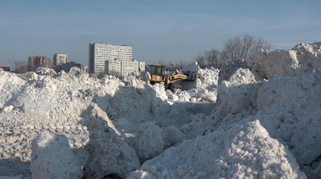 Более 45 тысяч тонн снега вывезено в Ростове