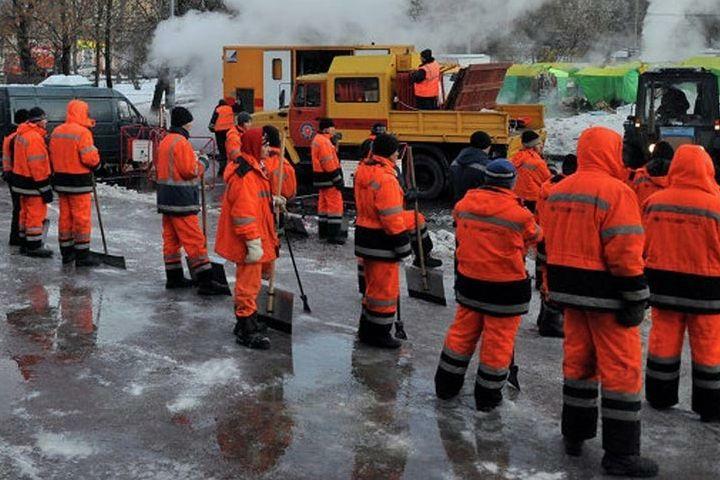Аварийные бригады ЖКХ готовы к новогодним и рождественским праздникам