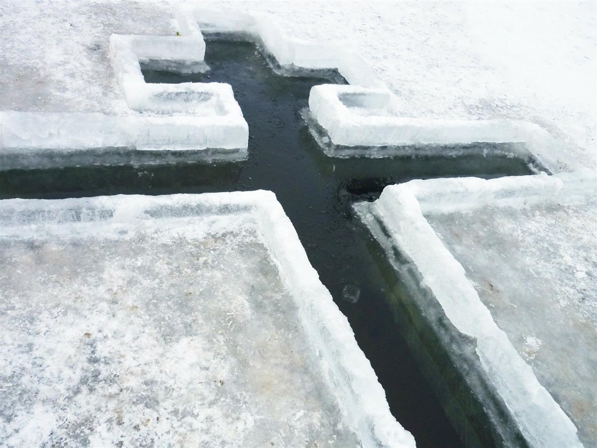 Места обрядовых купаний в праздник Крещения Господня в поселениях Белокалитвинского района