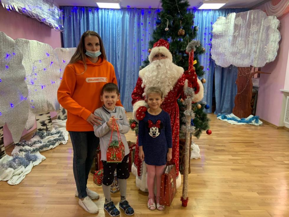 Новогодний праздник для особенных детей организовали в Ростовской области