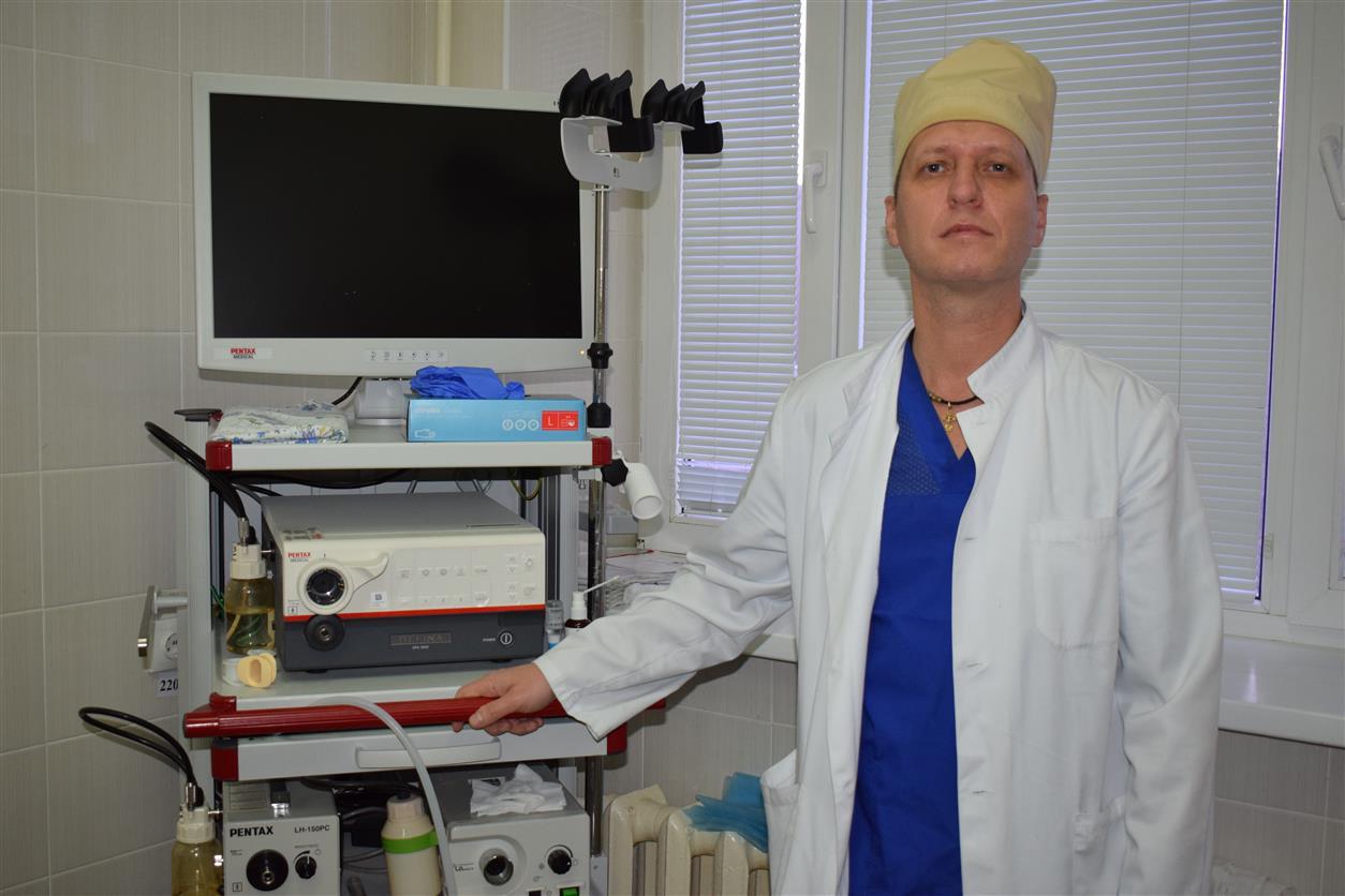 Врач-эндоскопист МБУЗ БР «ЦРБ» Алексей Чумерин: «Сегодня у нас есть все возможности, чтобы выявлять колоректальный рак на ранних стадиях»