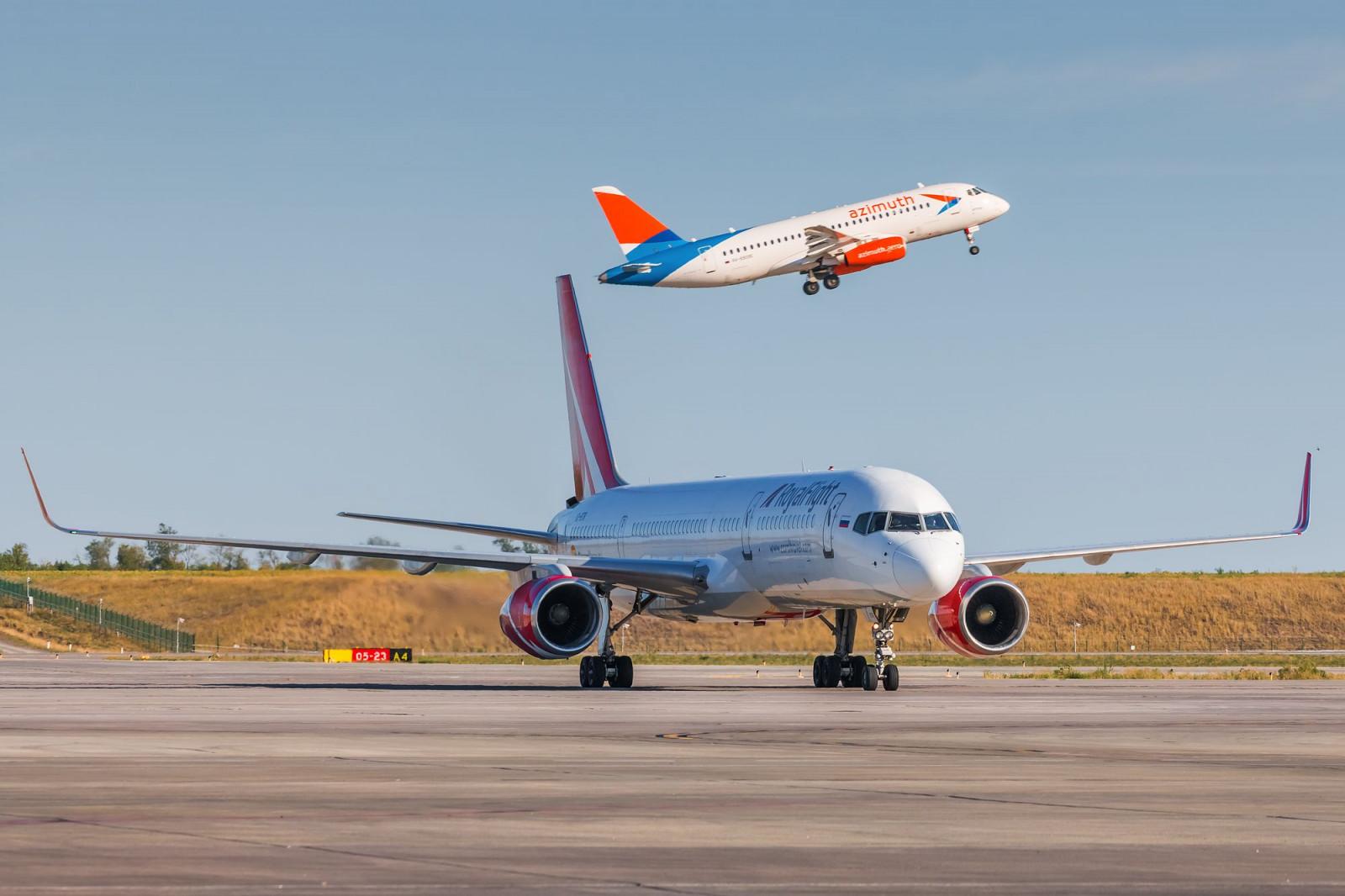 Авиакомпании открывают новые регулярные рейсы из аэропорта «Платов»