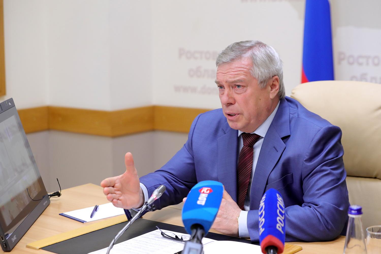 Василий Голубев направил свыше 32 млн рублей для объектов образования Дона