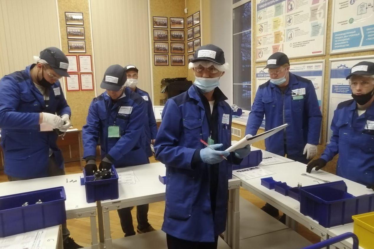 Сотрудники ростовского предприятия установили на «Фабрике процессов» новый рекорд
