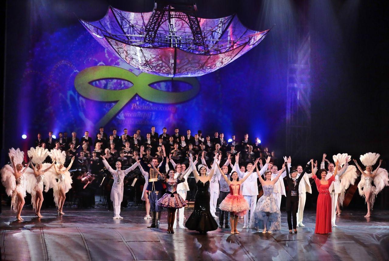 В Ростовском государственном музыкальном театре стартует фестиваль «Без десяти 100»