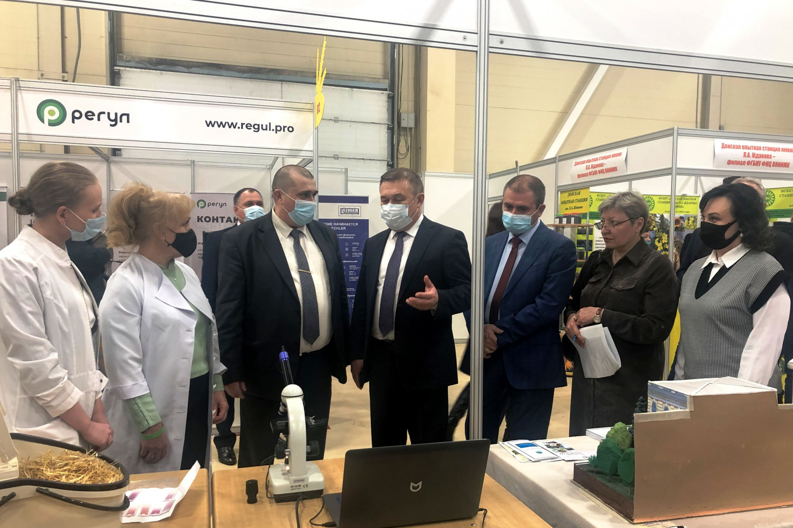 Дончане представили научные  инновации на Агропромышленном форуме юга России