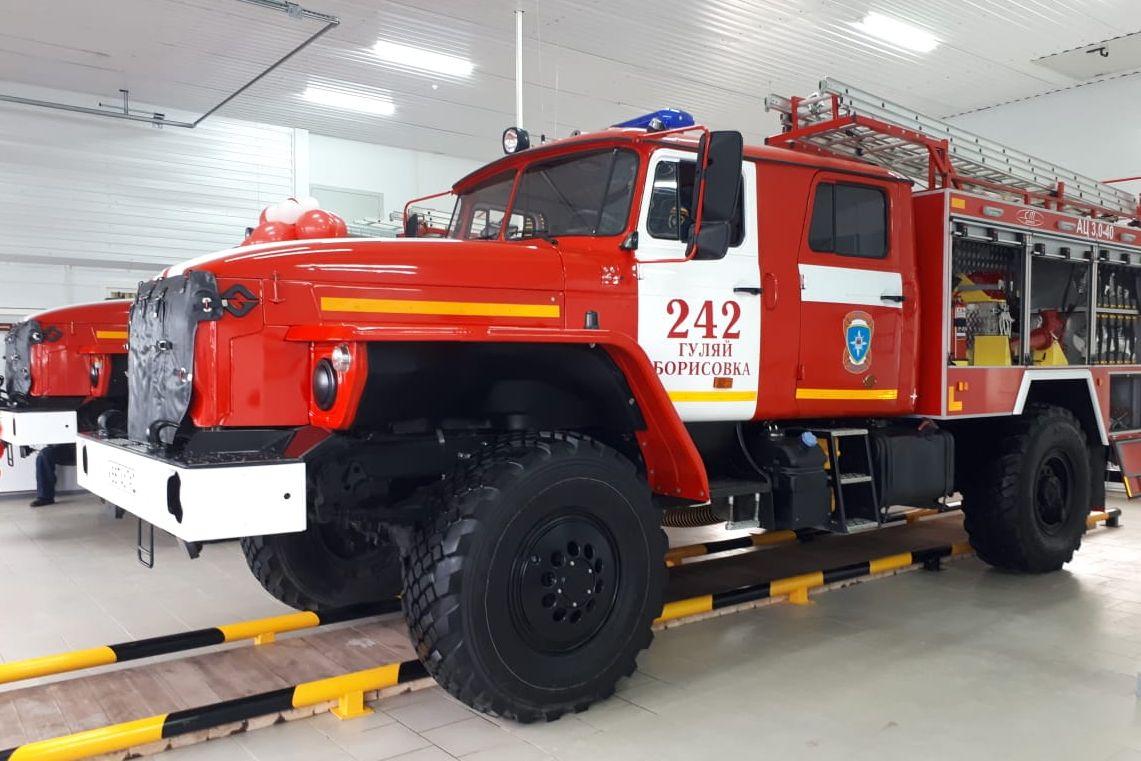 Выделены средства на покупку 8 пожарных автомашин для противопожарной службы Дона