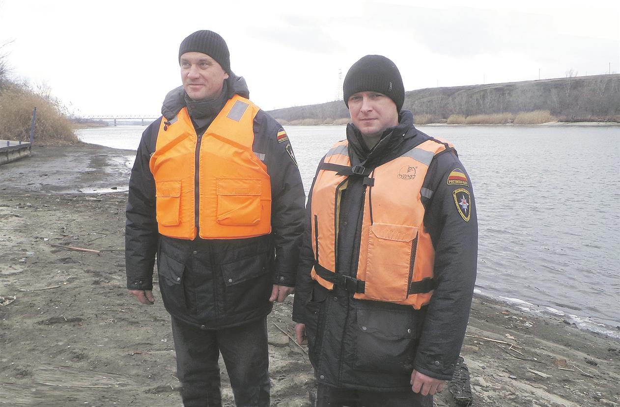 Спасатели на Донце