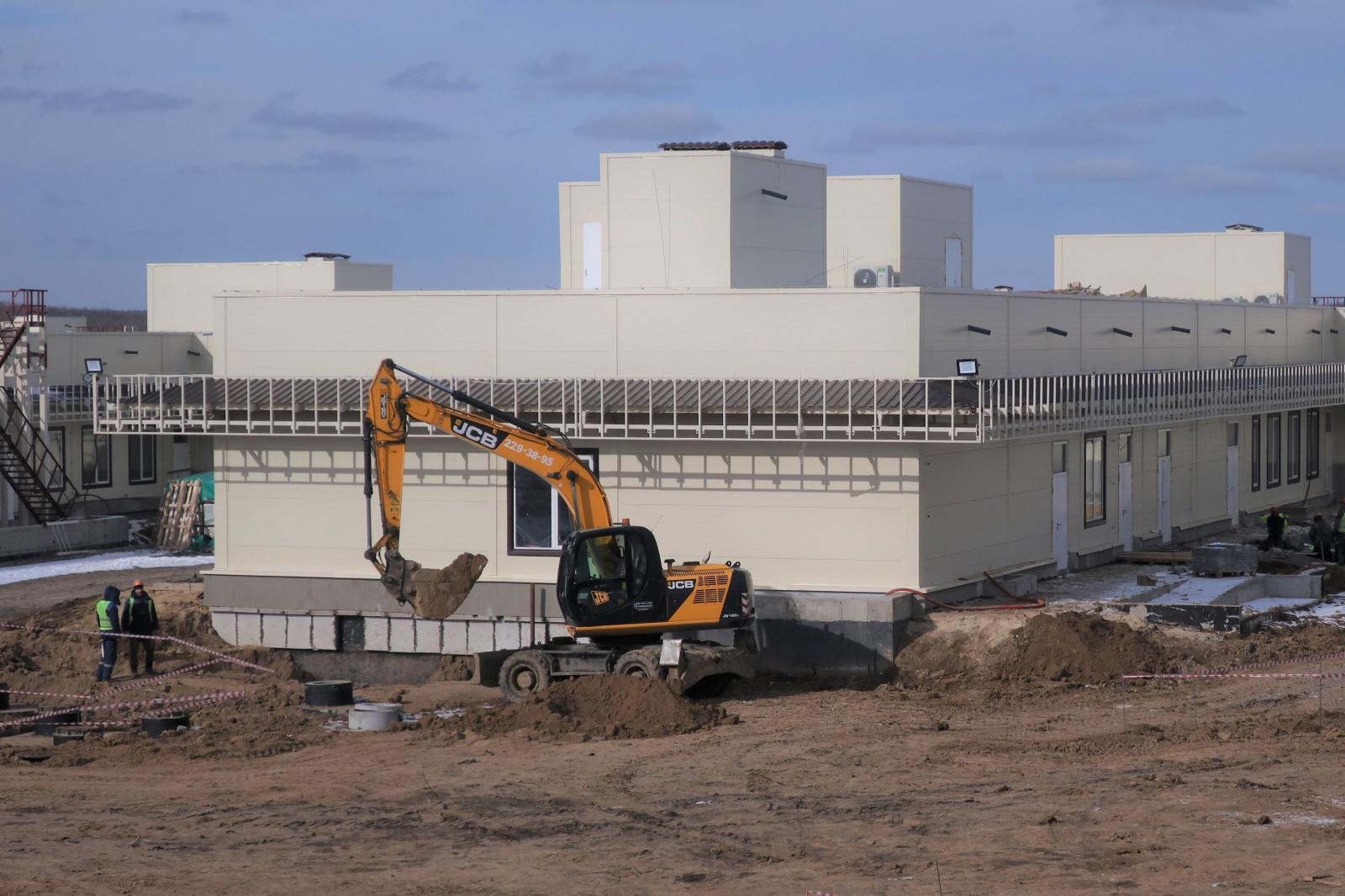 В Ростове-на-Дону продолжается строительство областной инфекционной больницы