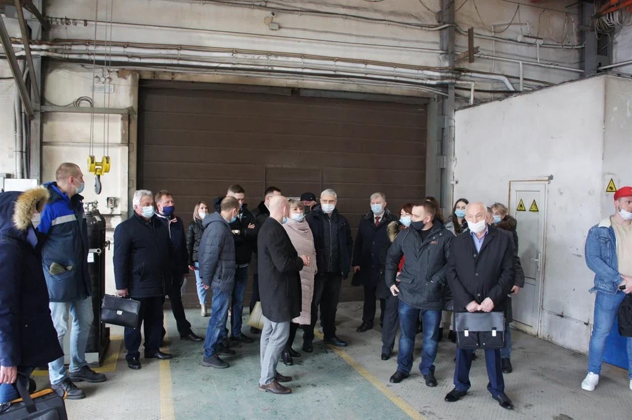 Представители промышленного кластера Ростовской области встретились с руководством РЦК в Волгодонске