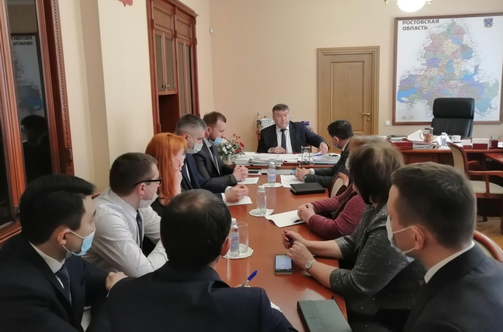В Ростове состоялось заседание штаба по нормализации водоснабжения города