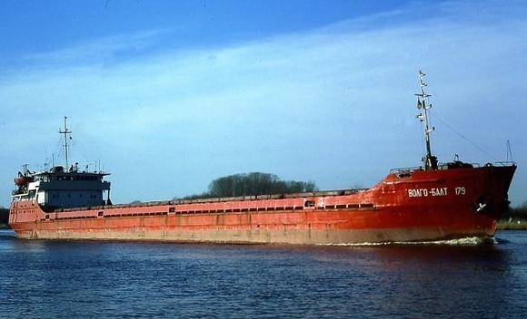 Затонул следовавший из России в Румынию сухогруз, на борту было 13 человек