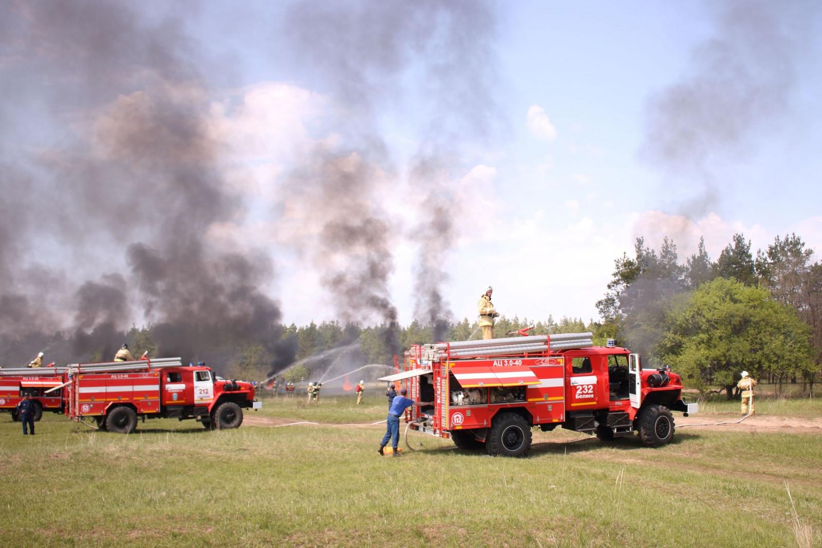 В Ростовской области усилены меры предупреждения ландшафтных пожаров