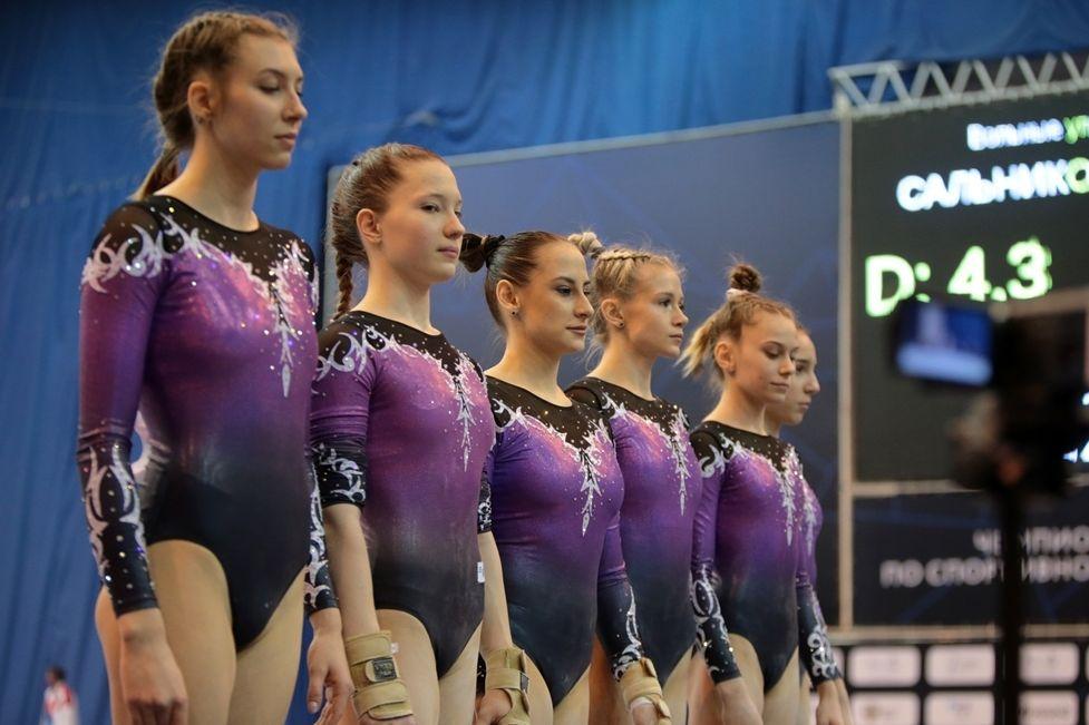 Донские гимнасты завоевали шесть медалей чемпионата России