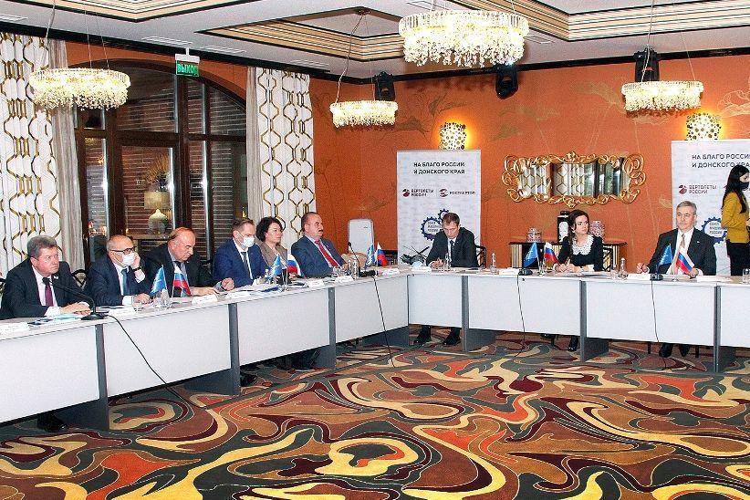 В Ростове-на-Дону прошло расширенное заседание регионального совета ростовского отделения Союза машиностроителей России