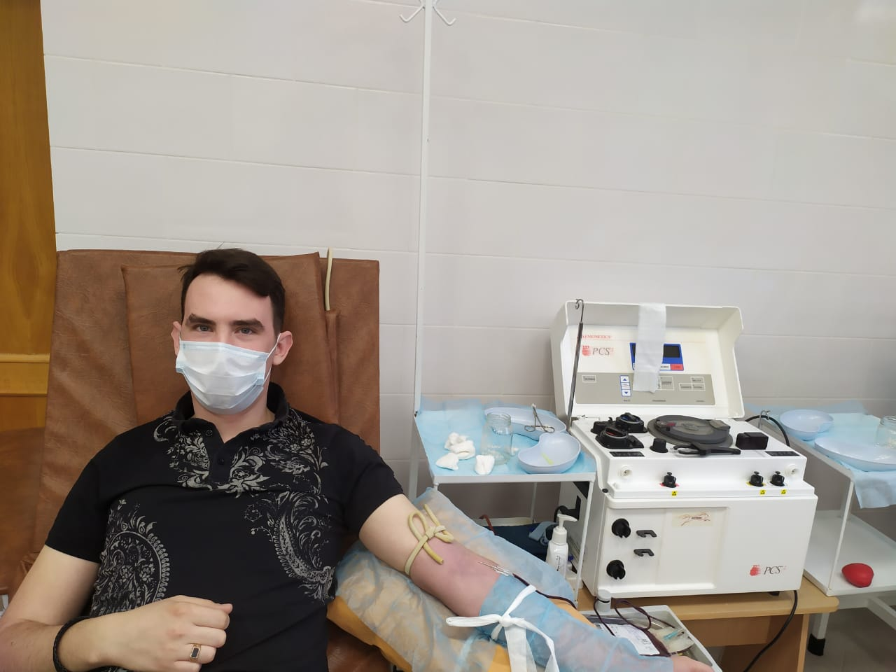 Стань донором крови и костного мозга!