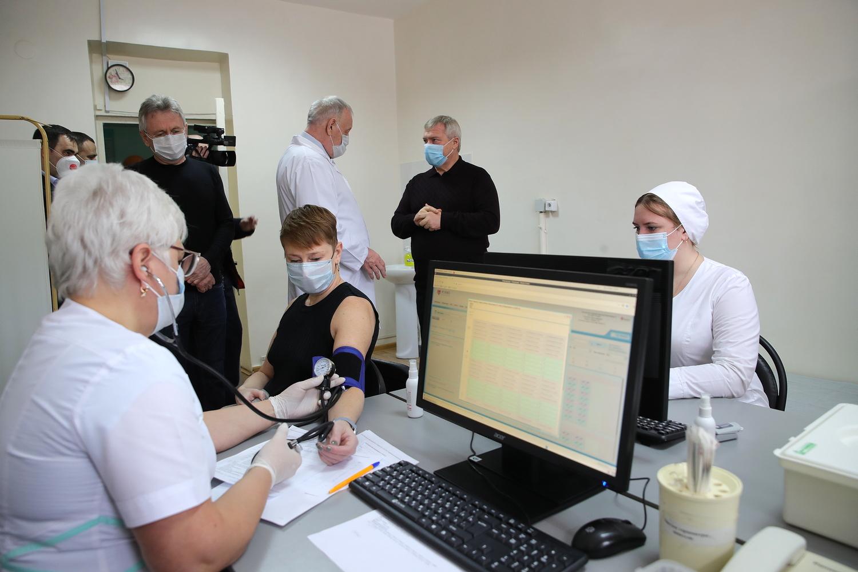 Василий Голубев: «При необходимости мы готовы вдвое увеличить число пунктов вакцинации»