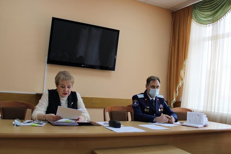 Состоялось первое в 2021 году заседание антинаркотиченской комиссии Белокалитвинского района