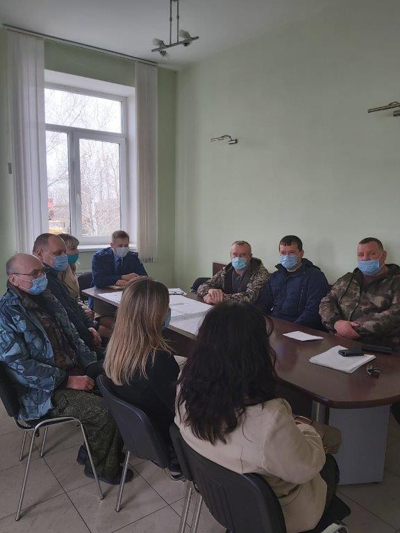 Проведена встреча с трудовым коллективом ООО ТУ «Шолоховское»